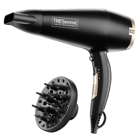 Tresemme 5543U Salon Professional Diffuser Hair Dryer | 3 Heat/Speed Settings | 2200W Thumbnail 2