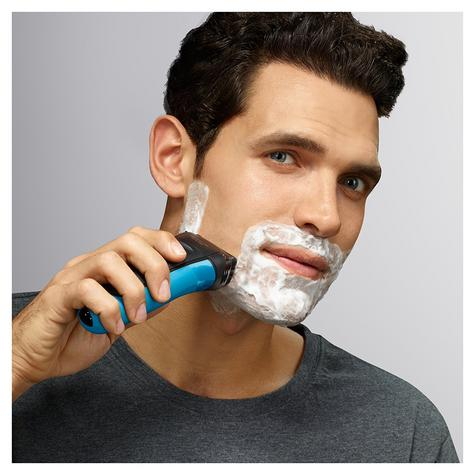Braun 310s Series 3 Mens Electric Face Stubble Shaver Rechargeable Wet & Dry Use Thumbnail 4