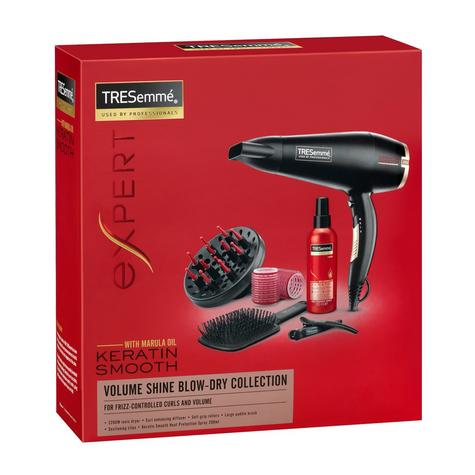 TRESemme Keratin Smooth Blow-Dry Collection| Hair Dryer 2200W Gift Set| 5543BU NEW Thumbnail 3