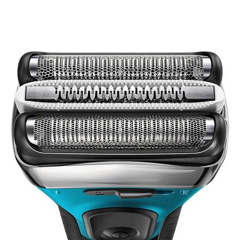 Braun Series 3 ProSkin 3080s Wet and Dry Electric Shaver|Men|Rechargeable|Blue Thumbnail 2