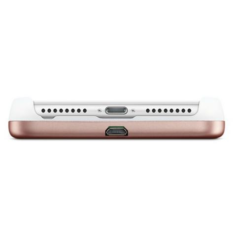 LuMee Duo LED Phone Selfie Case For iPhone 6/6S/7/8 Plus|Soft-Slim-Sleek|Matte Rose Thumbnail 6