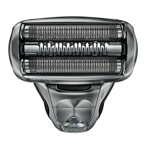 Braun Series 7 7898cc Men's Electric Foil Shaver|Wet/Dry + Clean|Charge Station|Silver| Thumbnail 2