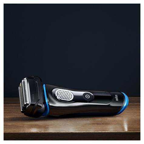 Braun Series 9 9240s Men's Electric Rechargeable Foil Shaver|Wet&Dry|Black/Blue Thumbnail 5