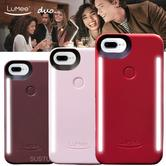 LuMee Duo LED Phone Selfie Case For iPhone 6/6S/7/8 Plus|Soft-Slim & Sleek|Winter Collection|Three Colours