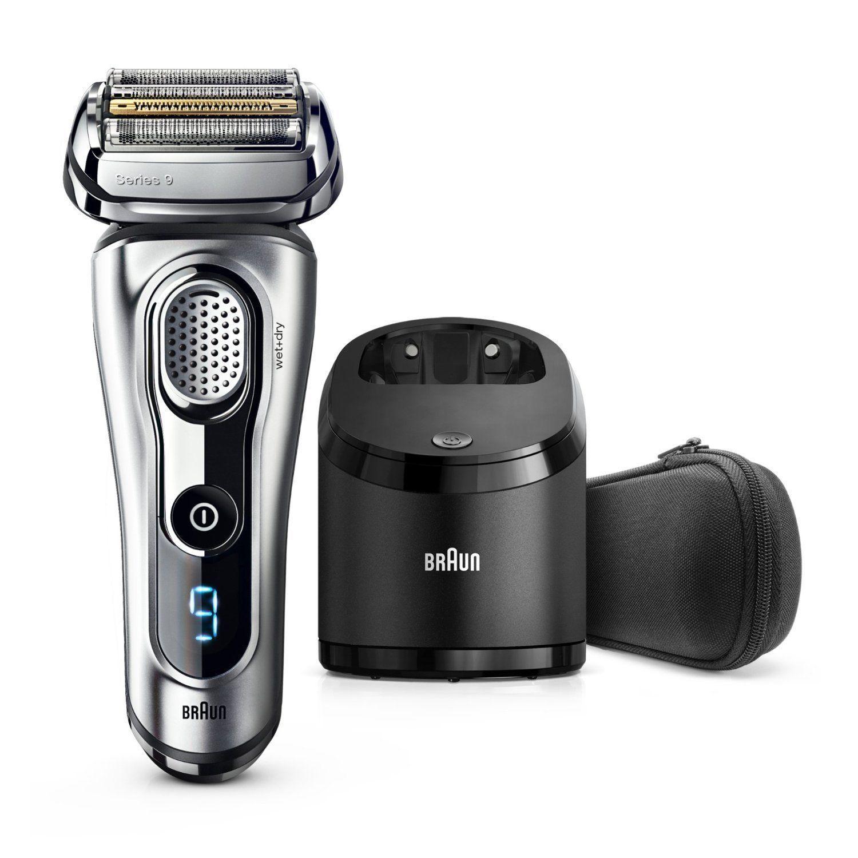Braun Series 9 9290cc Men's Electric Foil Shaver|Wet/Dry|PopUp Precision Trimmer - Silver