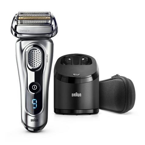Braun Series 9 9290cc Men's Electric Foil Shaver|Wet/Dry|PopUp Precision Trimmer - Silver Thumbnail 2