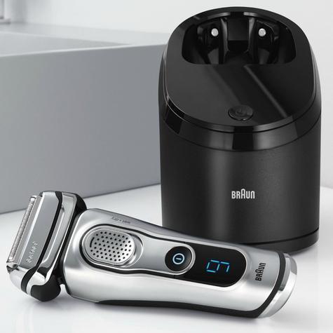 Braun Series 9 9290cc Men's Electric Foil Shaver|Wet/Dry|PopUp Precision Trimmer - Silver Thumbnail 3