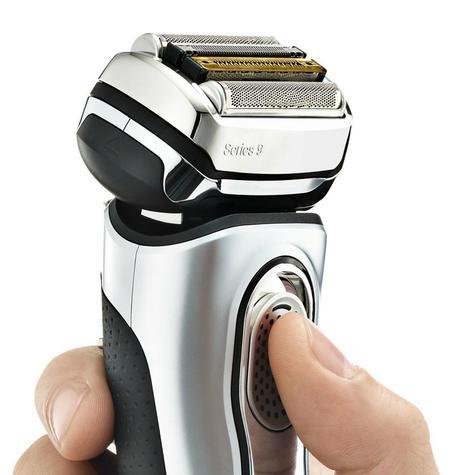 Braun Series 9 9290cc Men's Electric Foil Shaver|Wet/Dry|PopUp Precision Trimmer - Silver Thumbnail 6