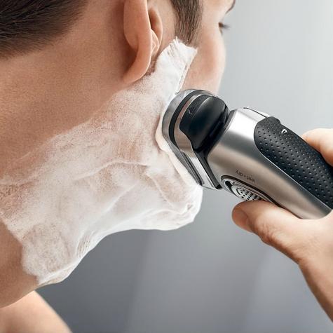 Braun Series 9 9290cc Men's Electric Foil Shaver|Wet/Dry|PopUp Precision Trimmer - Silver Thumbnail 7