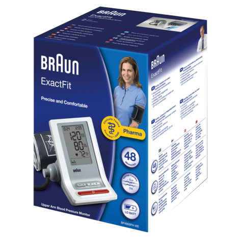Braun TrueScan 5 Plus Wrist Home Blood Pressure Monitor|Store 180 Measurement| Thumbnail 4