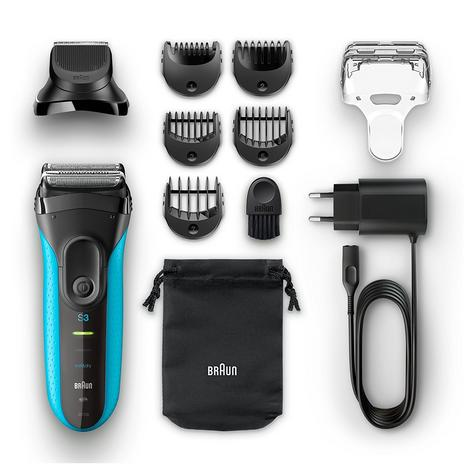 Braun 3010BT Series 3 Shave & Style Mens Shaver|Wet & Dry|Electric Razor Trimmer Thumbnail 5
