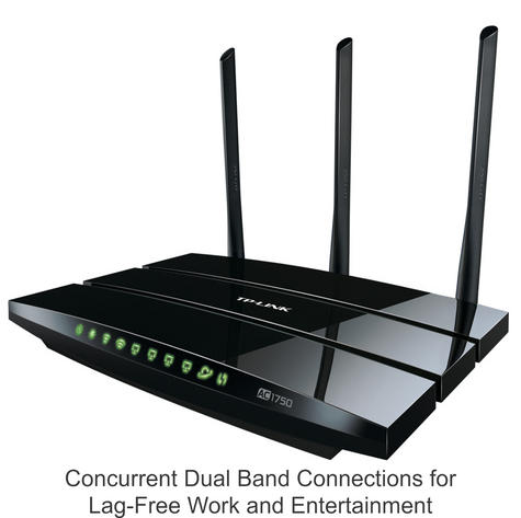 TP-Link ARCHER C7|AC1750 Wireless Dual Band Gigabit Router|802.11ac Wi-Fi|2 USB Thumbnail 3