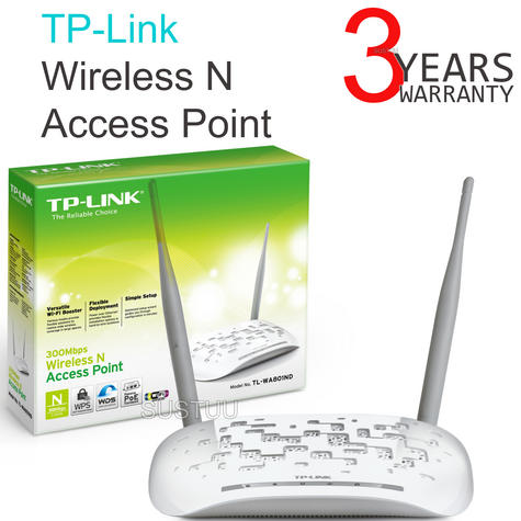 TP-Link TL-WA801ND Wireless N Access Point Booster|WIFI Network Router|300Mbps| Thumbnail 1