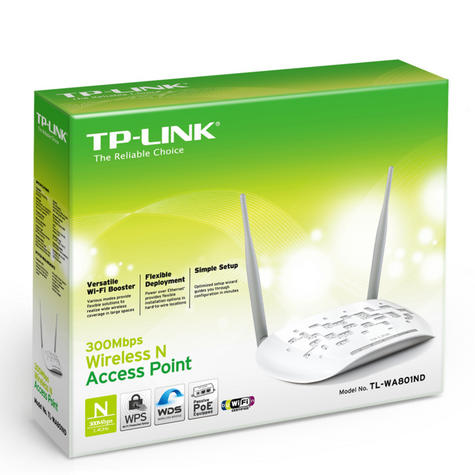 TP-Link TL-WA801ND Wireless N Access Point Booster|WIFI Network Router|300Mbps| Thumbnail 5