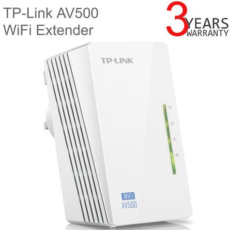 TP-Link TL-WPA4220 300Mbps AV500 WiFi Powerline Extender|WiFi Booster|Hotspot| Thumbnail 1