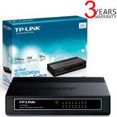TP-Link Ethernet 16-Port Unmanaged 10/100 Mbps Desktop Switch | Plug & Play | Black