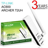TP-Link ARCHER T2UH|AC600 High Gain Wireless Dual Band USB Adapter|600Mbps Speed