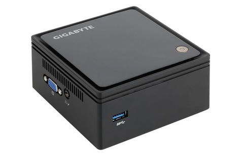 Gigabyte Brix BXBT-1900 Ultra Compact PC Kit | 120GB SSD + 4GB RAM | Audio Jack | NEW Thumbnail 2