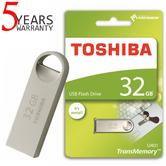 Toshiba TransMemory U401 32GB USB 2.0 Metal Flash Drive/Pen Drive | Shock & Dust Resistant