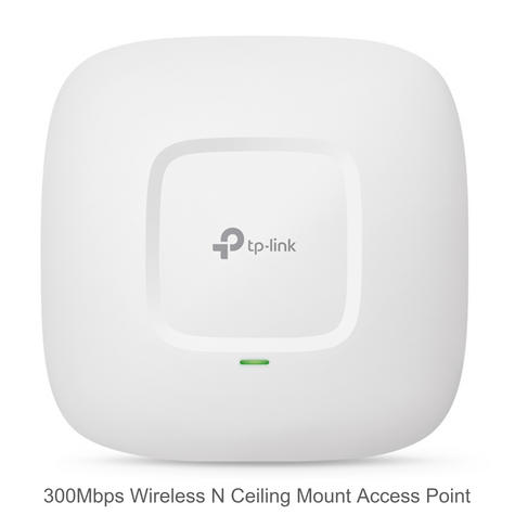 TP-Link EAP110|300Mbps Wireless N Ceiling Mount Access Point|Support Passive PoE Thumbnail 2