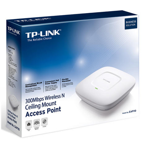 TP-Link EAP110|300Mbps Wireless N Ceiling Mount Access Point|Support Passive PoE Thumbnail 5