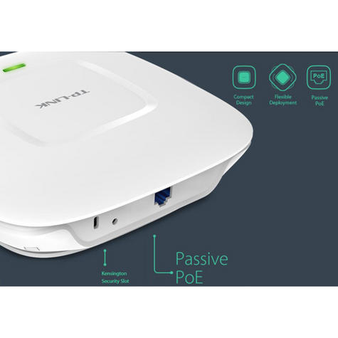 TP-Link EAP110|300Mbps Wireless N Ceiling Mount Access Point|Support Passive PoE Thumbnail 7