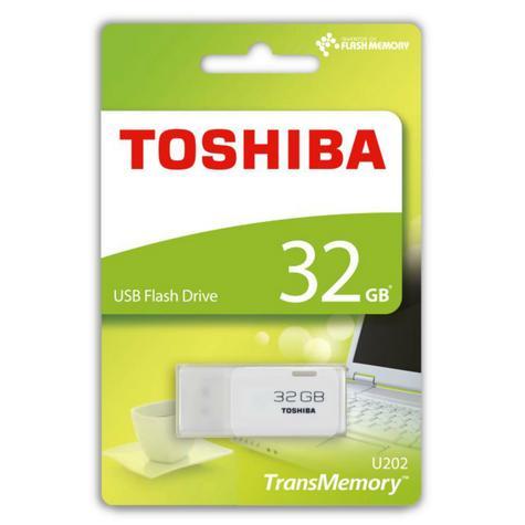 Toshiba TransMemory U202 32GB USB Flash Drive 2.0|THN-U202W0320E4|White Thumbnail 2