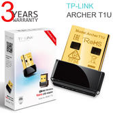 TP-Link ARCHER T1U|AC450 Wireless Nano USB Adapter|Fast & Stable Wi-Fi|USB 2.0