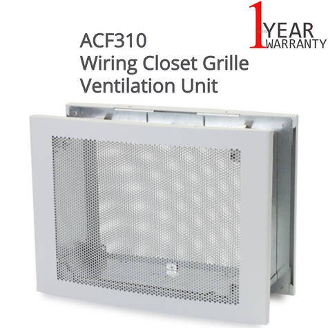 APC ACF310 Air Intake Grille for Wiring Closet Ventilation|Heat Removal System| Thumbnail 1