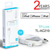 TP-Link TL-AC210 Charge - Sync USB Cable - 1m|MFi Certified|For iPod-iPhone-iPad