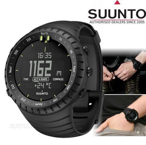 Suunto Core Outdoor Military Sports Watch | Altimeter | Barometer | Compass | All Black Thumbnail 2