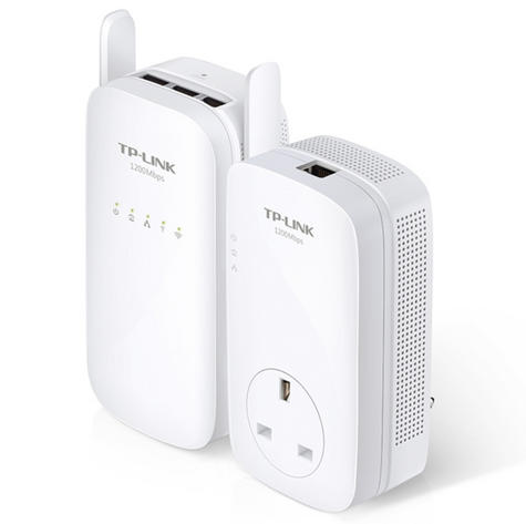TP-Link TL-WPA8630KIT|AV1200 Gigabit Powerline ac Wi-Fi Kit|Up to 1200Mbps Range Thumbnail 2