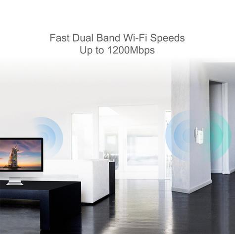TP-Link TL-WPA8630KIT|AV1200 Gigabit Powerline ac Wi-Fi Kit|Up to 1200Mbps Range Thumbnail 4