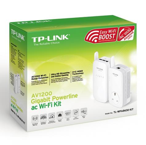TP-Link TL-WPA8630KIT|AV1200 Gigabit Powerline ac Wi-Fi Kit|Up to 1200Mbps Range Thumbnail 5