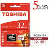 Toshiba EXCERIA M302 32GB Micro SD with Adap|90MB/S|4K & HD Record|Use Phone & Camera