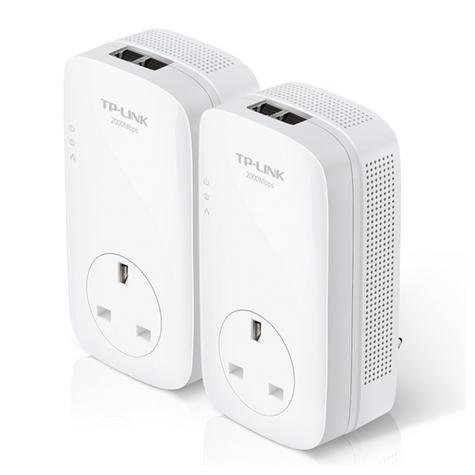 TP-Link AV2000 2-Port Gigabit Powerline Starter-TL-PA9020P KIT|Home Plug AV2 Thumbnail 2