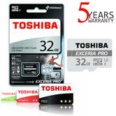 Toshiba EXCERIA PRO M401 32GB Micro SD with Adap | 95 MB/S | 4K & Full HD Record | For Phone & Camera