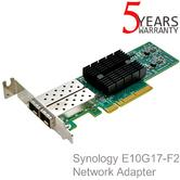 Synology E10G17-F2 Network Adapter | Exclusive Speed For XS+/XS Series NAS Servers