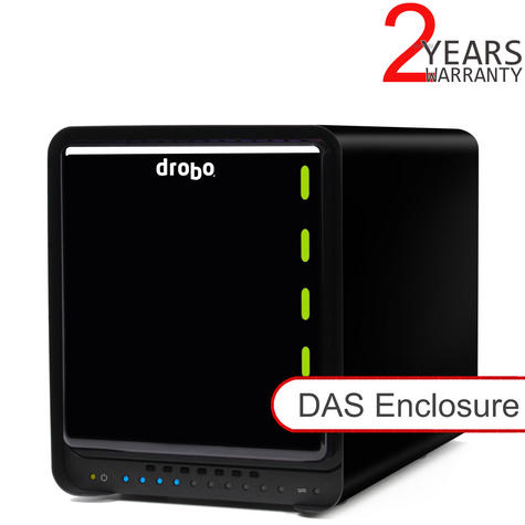 Drobo DDR4A31 5C 5 Bay DAS Enclosure|Power Interruptions Protector|Backup Device Thumbnail 1