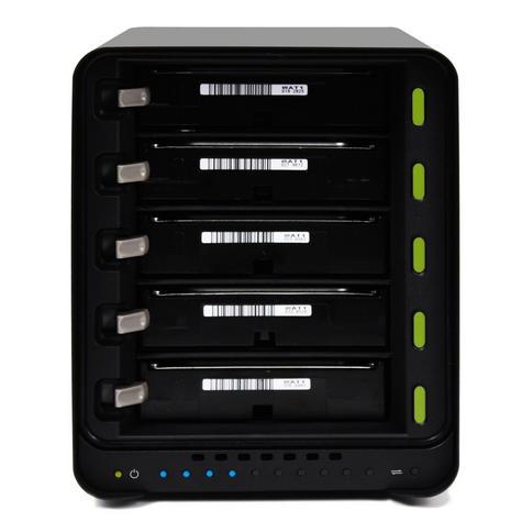 Drobo DDR4A31 10TB(5x2TB WD RED) 5 Bay DAS|Secure Storage Device|USB 3.0|Type-C| Thumbnail 4