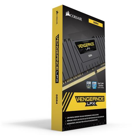 Corsair 32GB (2 x 16GB) Vengeance LPX DDR4 XMP 2.0 Desktop Memory Kit | Black | NEW Thumbnail 4