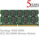 Synology 16GB DDR4 DIMM 260-pin 2133MHz PC4 ECC Memory Module | RAMEC2133DDR4SO 16