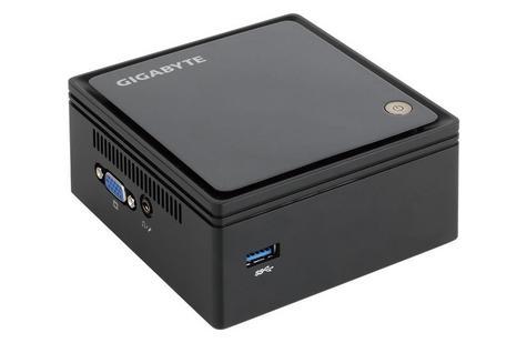 Gigabyte Brix GB-BXBT-1900/480/8 Ultra Compact PC Kit | 480GB SSD+8GB RAM | 1333 MHz Thumbnail 2