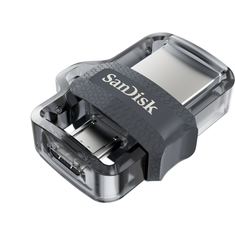 SanDisk 128GB Ultra Dual m3.0 OTG Micro USB Flash Drive/ Memory Stick | For Android Smartphones & Tablets Thumbnail 4