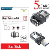 SanDisk 16GB Ultra Dual m3.0 OTG Micro USB Flash Drive/Memory Stick | For Android Smartphones & Tablets