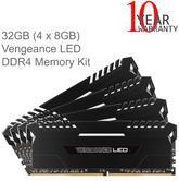 Corsair 32GB (4x8GB) Vengeance LED DDR4 Illuminated Memory Kit | 3000MHz | 1.35V | NEW