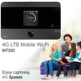 TP-Link M7350 V4 4G LTE-Advanced Mobile Wi-Fi|Dual-band Hotspot/Router|Upto 150Mbps Speed