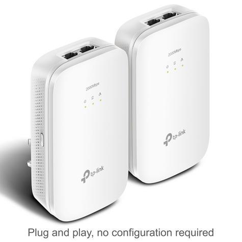 TP-Link AV2000 2-port Gigabit Powerline Starter-TL-PA9020 KIT HomePlug AV2  Thumbnail 2