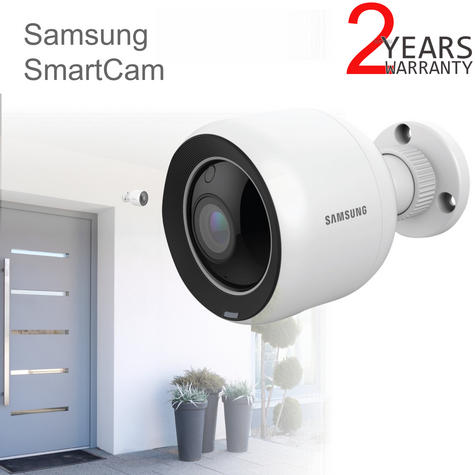 Samsung SNH-V6430BNH/UK SmartCam 1080p Full HD WiFi/ PoE Indoor & Outdoor Camera | Weather-Resistant Thumbnail 1