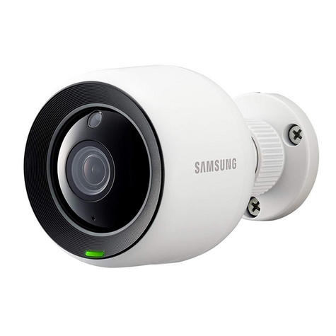 Samsung SNH-V6430BNH/UK SmartCam 1080p Full HD WiFi/ PoE Indoor & Outdoor Camera | Weather-Resistant Thumbnail 2